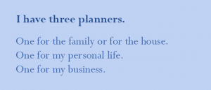 how many planners do you need?