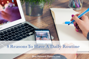 How to get a daily routine