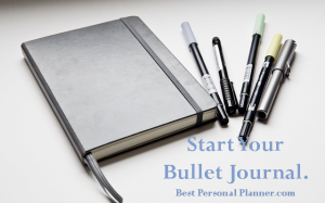 How to start your bullet journal