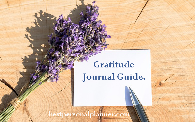 Gratitude Journal Guide