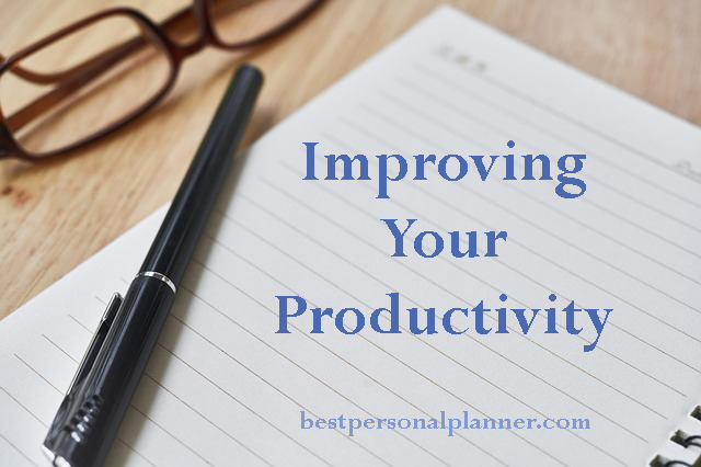 Improving your productivity
