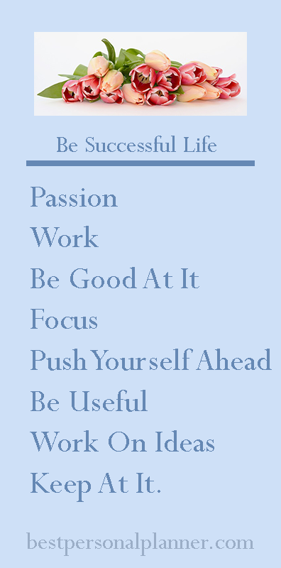 be successful life
