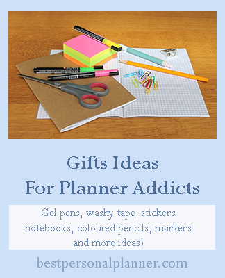 Gifts ideas for planner addicts