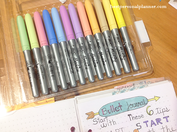 6 tips to start your bullet journal