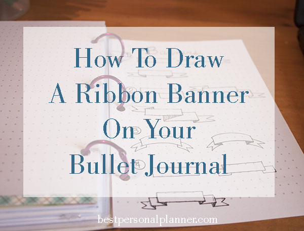 best way to draw a ribbon banner