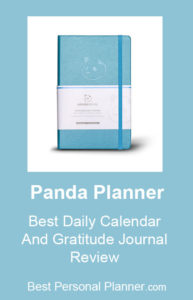 Panda Planner - Best Daily Calendar and Gratitude Journal Review, Plan Your Life And Make The Best Of It!