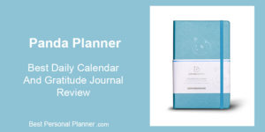Panda Planner - Best Daily Calendar and Gratitude Journal Review