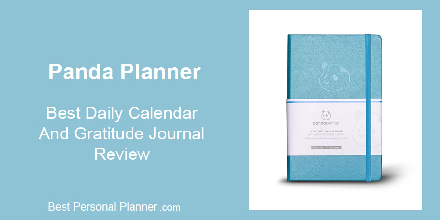 Panda Planner - Best Daily Calendar and Gratitude Journal Review