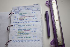 Best food diary bullet journal