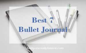 Best 7 bullet journal 2018