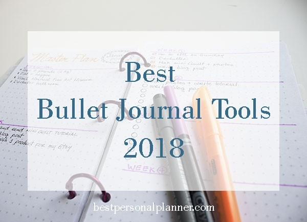 favorite bullet journal tools