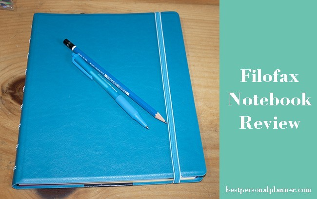 Filofax A5 Notebook review