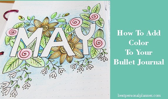 how to add color to your Bullet Journal