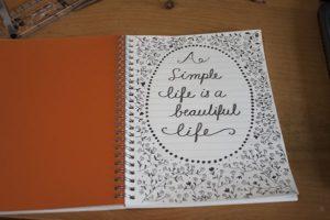 fabriano ecoqua A5 notebook