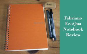 Fabriano ecoqua notebook review