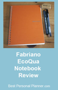 Fabriano EcoQua Notebook Review