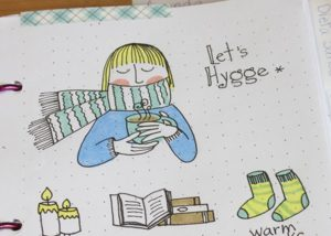 How To Hygge - Bullet Journal