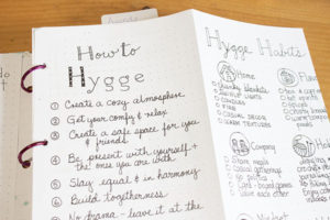When it's about how to spend the long and cold Winter months, learning about how to hygge - Bullet Journal will be the best tool to find the way to enjoy Winter