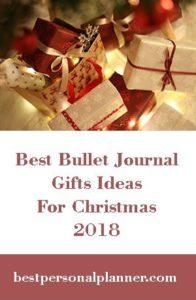 Best Bullet Journal Gift Ideas