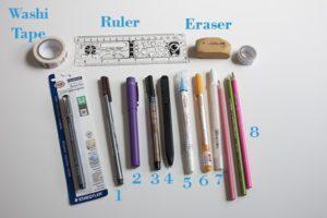 Top 11 Bullet Journal Stocking Stuffers