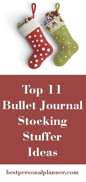 Top 11 Bullet Journal Stocking Stuffers