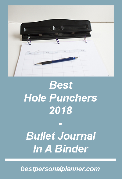 best hole punchers 2018