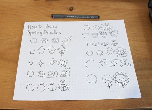 Best Cute And Easy Spring Doodles