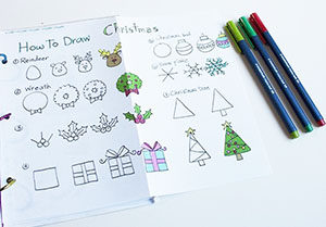 Easy Christmas Doodles