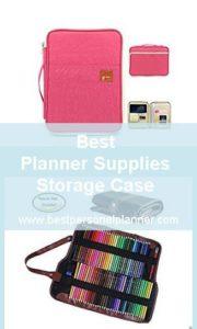 Best Planner Supplies Storage Case
