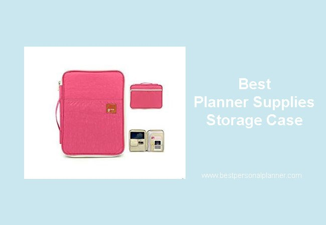 best planner supplies storage case