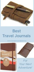 best travel journals