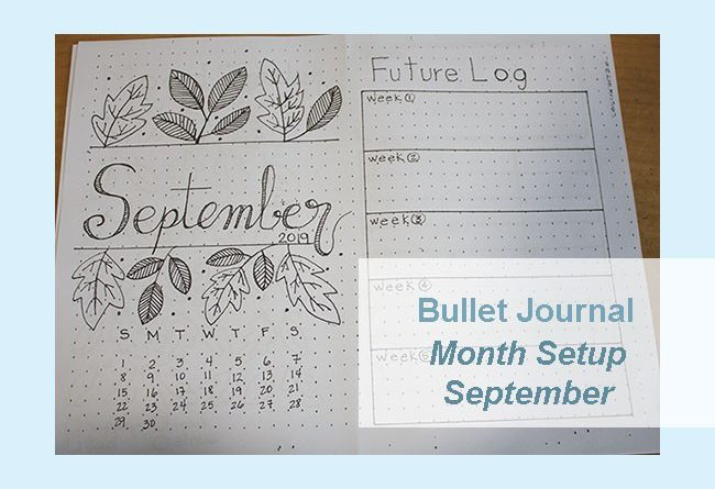 future log bullet journal example