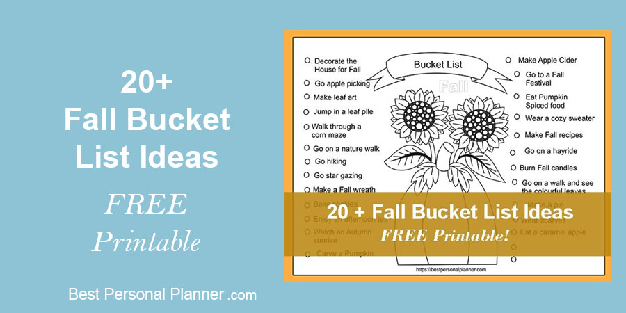 Ideas For Your Fall Bucket List