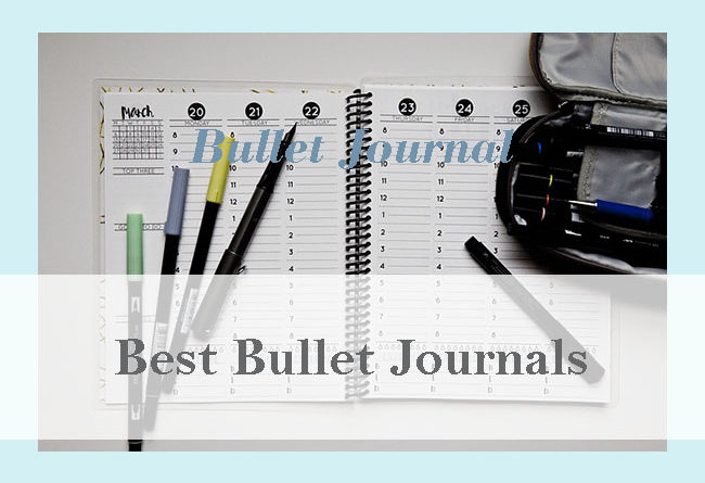 best notebook for bullet journals