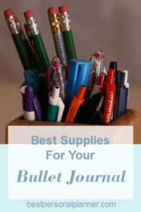 My Favorite Bullet Journal Tools