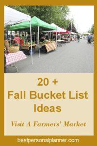 Ideas For Your Fall Bucket List