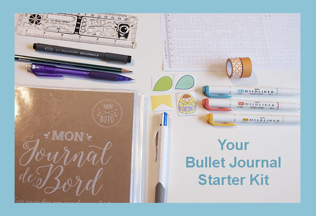 Bullet Journal and supplies starter kit